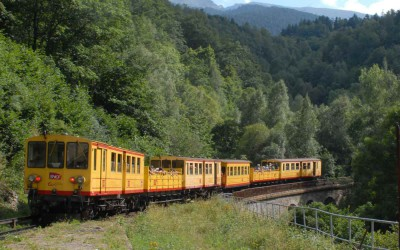 The Yellow Train of Cerdanya